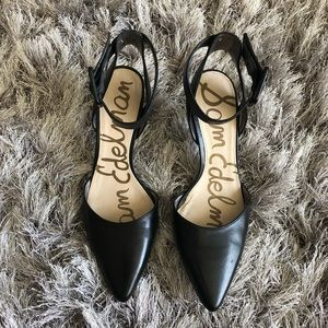 Sam Edelman heels with ankle strap